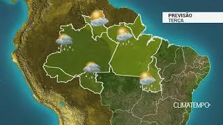 Previsão Norte - Tempo instável nesta terça