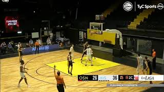 #LNB - Obras Basket 82-84 Hispano (19/1/2021)