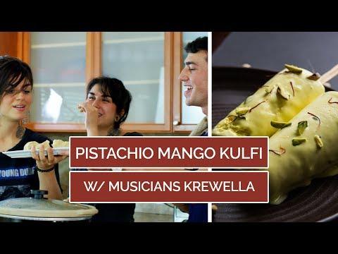 Pistachio Mango Kulfi Vegan Recipe W Krewella & Mario Fabbri