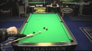 Ray Martin vs Oliver Ortmann at the World 14.1 Tournament