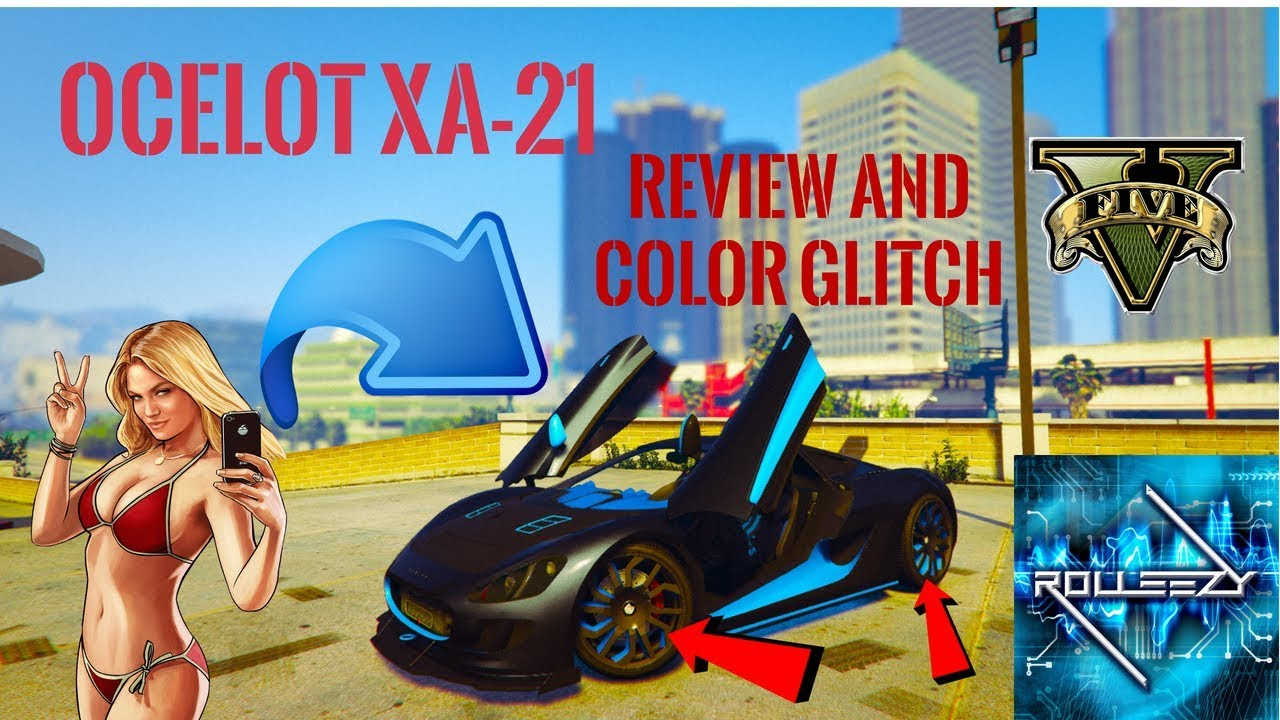 ocelot xa 21 review stock color rims glitchnew super car content in gta 5 online after 140