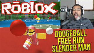 ROBLOX: THIS GAME IS AWESOME! | Dodge Ball, Free Run & Slender Man [Funny Moments]