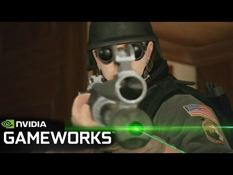Rainbow Six Siege NVIDIA GameWorks Trailer 4K Poster