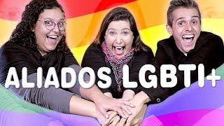 Jogo dos Aliados LGBTI+: Fui Testada! | com Canal das Bee