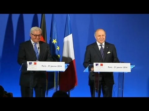 French and German foreign ministers share joint travel agenda