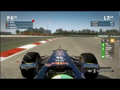 F1 2012 - VC Malajsie - závod (Red Bull)