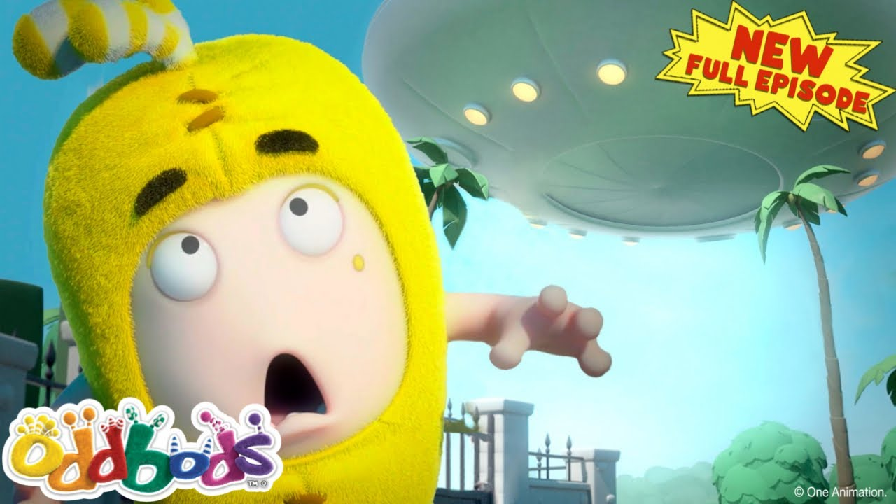 ODDBODS | Bubbles Investigates Paranormal Activity | NEW Full EPISODE | Cartoons For Kids
