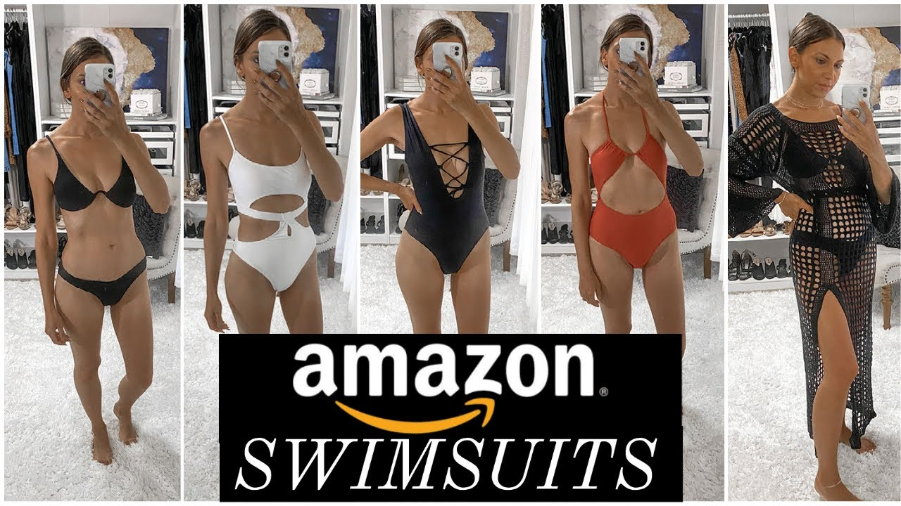AMAZON SWIMSUIT HAUL | Affordable Swimsuits from Amazon | Summer 2021 Swimsuit Haul