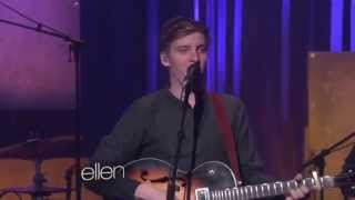"George Ezra sings ""Budapest"" on Ellen - 23/1/2015"