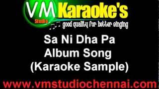 Sa Ni Dha Pa (Karaoke Sample).mpg
