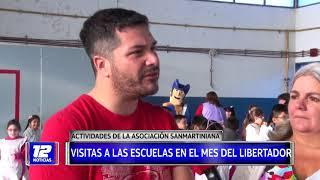 Visitas a las escuelas en el mes del Libertador