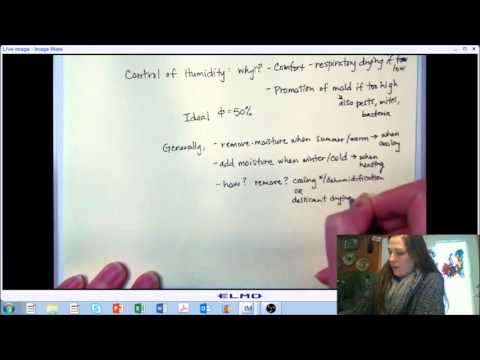 LECTURE 4 (PART B): Comfort and Health - Indoor Environmental Quality - Indoor Air Quality