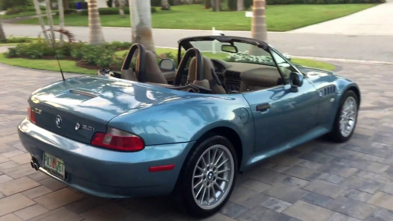 2002 Bmw Z3 3 0 Roadster For Sale By Auto Europa Naples