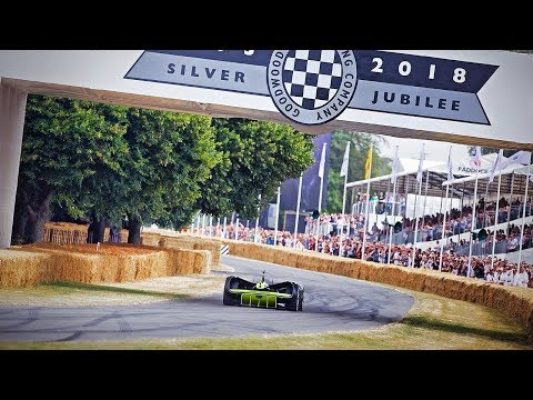 Robocar makes history as the first autonomous race car to complete the Goodwood hillclimb