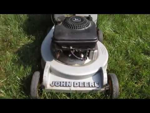 John Deere Lawn Mower Model 14pz