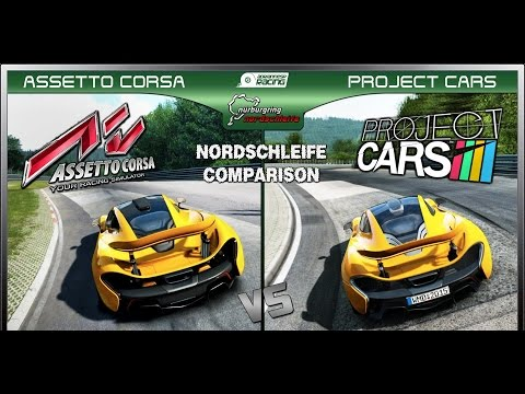 Project CARS vs Assetto Corsa in VR with Oculus Rift Dk2
