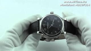 Обзор. Мужские наручные часы Montblanc MB107314