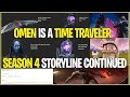 watch he video of *NEW* Fortnite: SEASON 4 STORYLINE SOLVED! *OMEN IS A TIME TRAVELER* | (Omen takes Over Storyline)