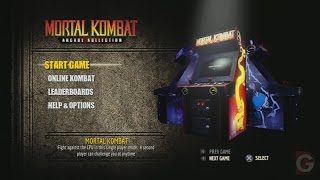 (PS3)MORTAL KOMBAT - ARCADE KOLLECTION
