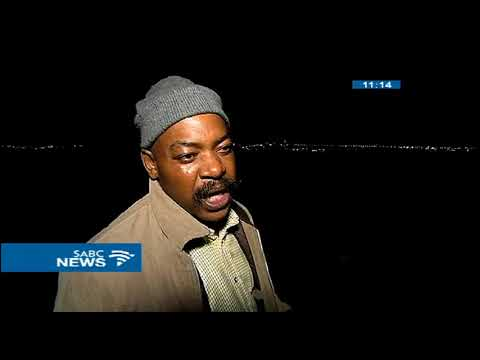 A group of invaders have occupied a piece of land in Midrand