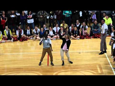 11-13-2014 Trinity High School Teacher Dance Off Vs The Trojan Crew