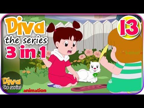 Seri Diva 3 in 1 | Kompilasi 3 Episode ~ Bagian 13 | Diva The Series Official