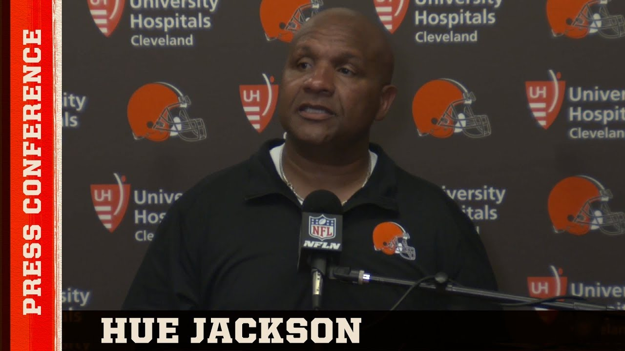Hue Jackson Postgame Press Conference vs. Raiders | Cleveland Browns