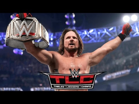 WWE TLC 2016 Full Show Predictions Game, Aj Styles Wins TLC Match! #WWETLC