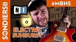 UNE GUITARE VIRTUELLE ? ELECTRIC SUNBURST (NATIVE INSTRUMENTS) - METRO BOULOT HOMESTUDIO