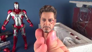 Iron Man 2 Iron Man Mark V | Hot Toys Diecast Version Sixth Scale Figure UNBOXING! #HotToys