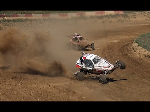 Autocross Lleida Nacional 2017 Kartcross Crash & Show (Edgar-RaceVideos)