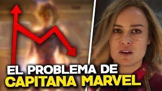 ¡BRUTAL CAÍDA! ¿Que está pasando con Capitana Marvel?
