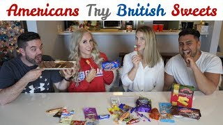 Americans Try British Candy