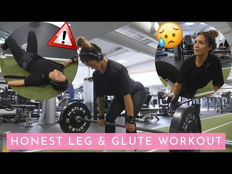 THE TRUTH ABOUT MY WORKOUTS - HOW I DEAL WITH UNMOTIVATION (LEG DAY)