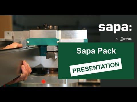 Sapa Pack, Machines Outils Pour Menuiserie Aluminium