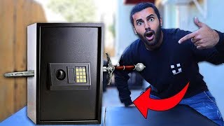 I Bought The WORST Rated SAFE On Amazon!! First To Break It Open WINS $10,000!! (1 STAR)