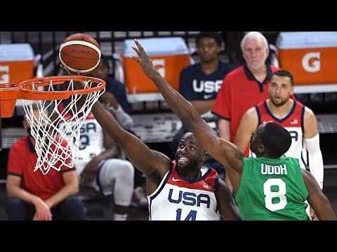 BasketBall: Nigeria D'Tigers team in dazzling form, stun USA, Argentina in pre-Tokyo games