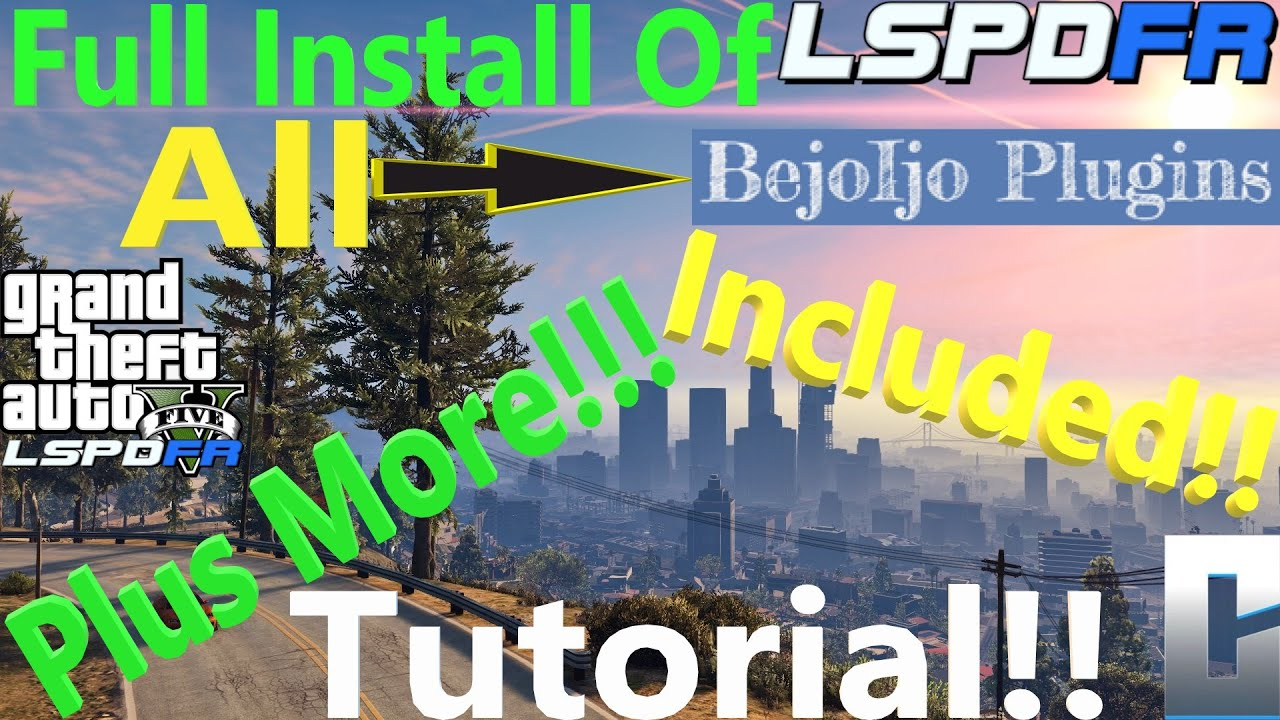 Download Full Install Tutorial For LSPDFR!🔵 | All Plugins Included! | #Tutorial | #criminaljusticeyoutube
