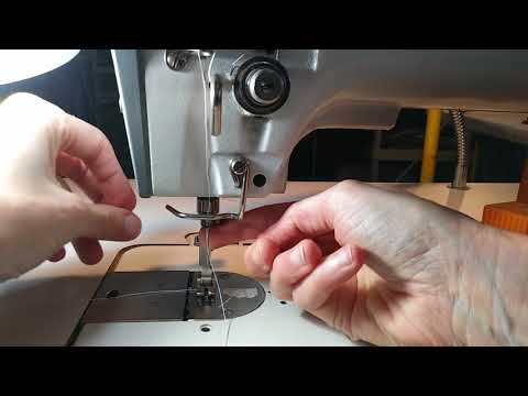 How to Change the Needle on an Industrial Sewing Machine Pfaff 563