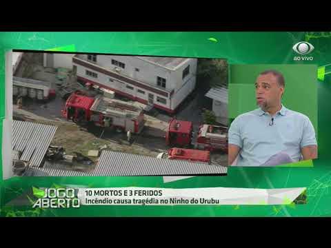 Denilson Chora Ao Falar Da Tragédia No CT Do Flamengo
