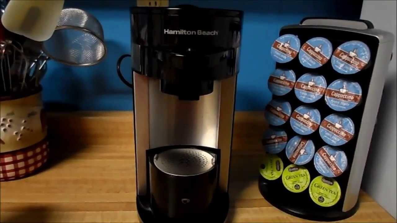 Product Review Hamilton Beach Flexbrew Single Serve Coffee Maker