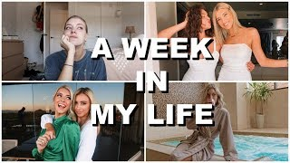 WEEK IN MY LIFE: opening up, my birthday & sorority recruitment! | Keaton Milburn