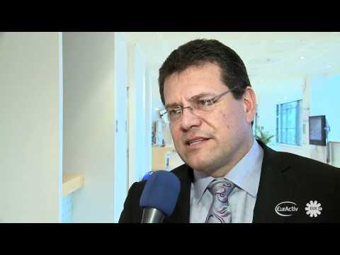 Šefčovič on European Citizens Initiative launch