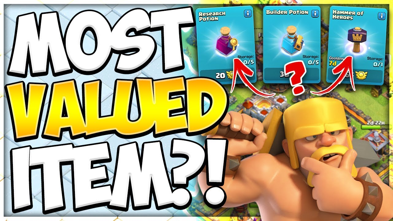 Which Magic Items are the Best Options for a New TH11   How to Spend League Medals in Clash of Clans