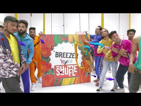 Breezer Vivid Shuffle- Shuffle Track 2.0 | Fejo | Raftaar | Varun Dhavan