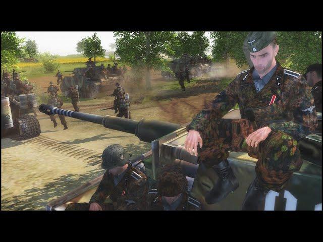 5. SS-PANZER-DIVISION WIKING - Totaler Krieg: 1939-45 Mod Gameplay