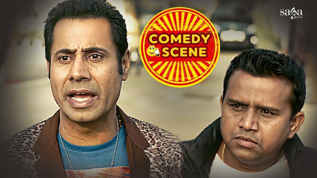 Download Binnu Dhillon & Karamjit Anmol New Comedy Scene | New Punjabi Funny Scene | Arya Babbar | Saga Music