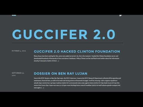 BREAKING!!! MORE INFORMATION FROM GUCCIFER DUMP!!!!
