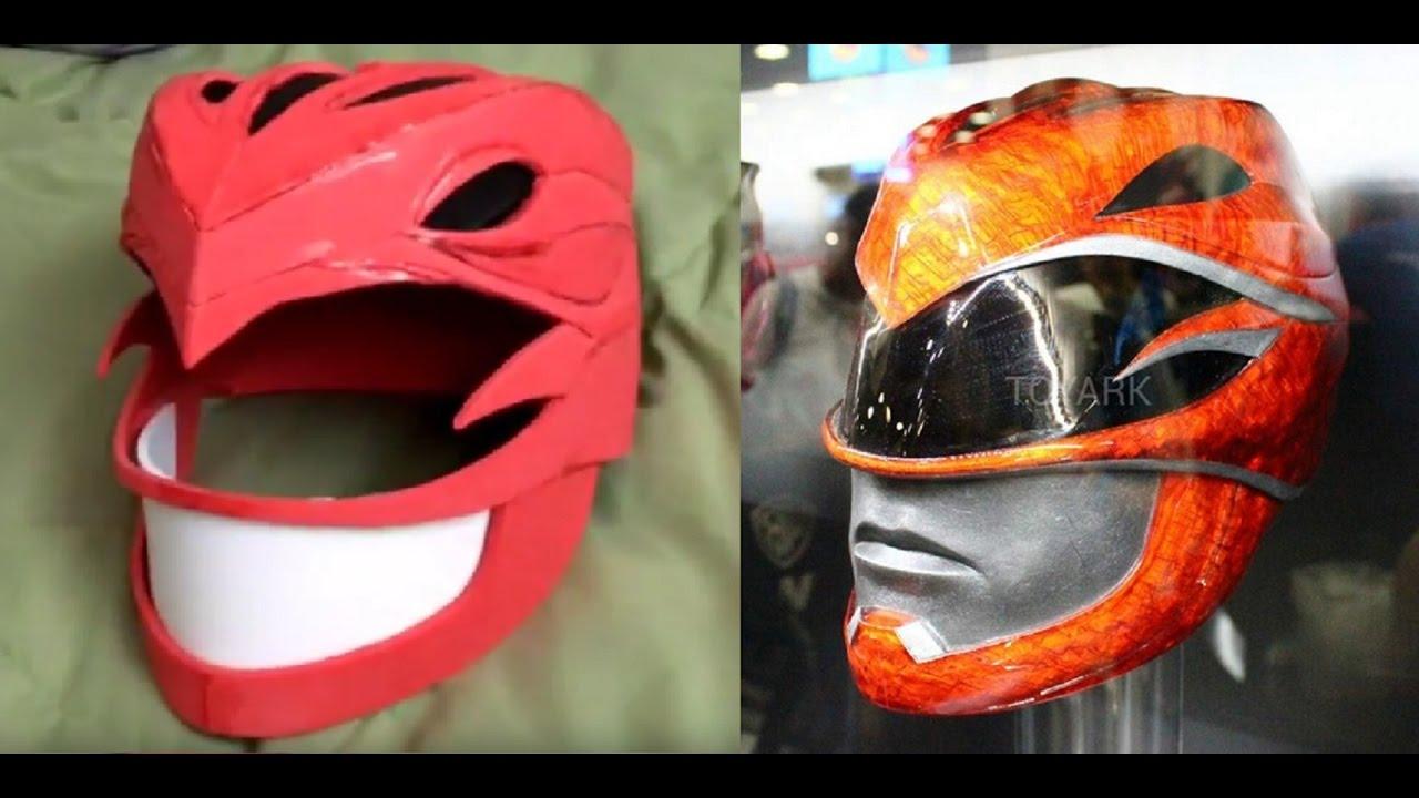 how to make a power ranger helmet