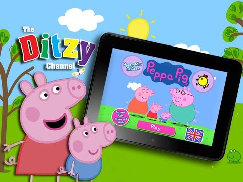 PEPPA PIG HAPPY MRS CHICKEN GAME Kindle app review & gameplay by DTSE – The Ditzy Channel